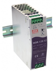 Zasilacz DIN Mean Well WDR-120-48 48V/2,5A 120W