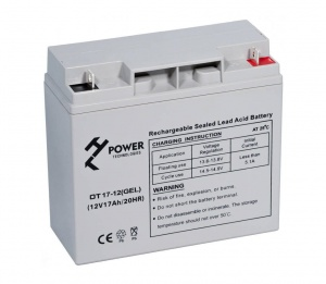 Akumulator żelowy HT POWER OT17-12 seria POWER BACKUP GEL 17Ah/12V L1